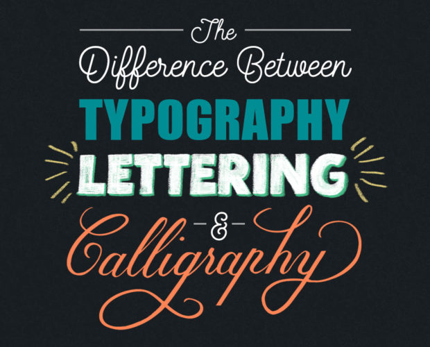 Typography Lettering Calligraphy