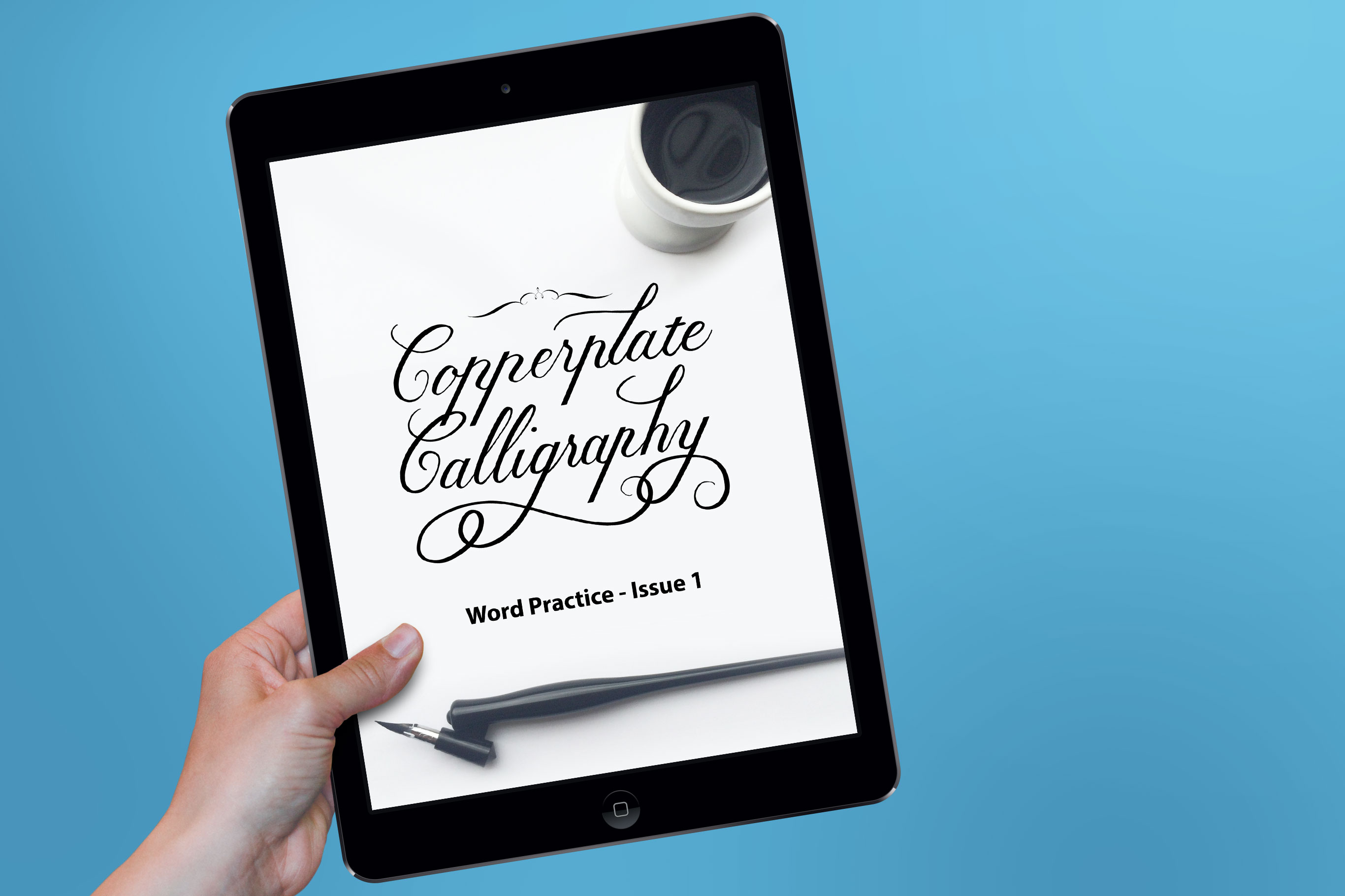 Free Copperplate Word Practice Guide For Procreate Ipad