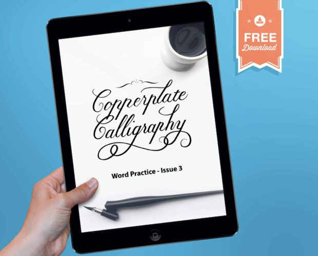 Procreate Copperplate Word Practice Guide