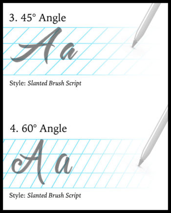 Calligraphy Guidelines for Procreate
