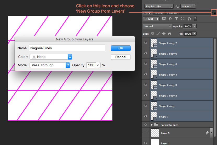 How To Make a Custom Calligraphy Guidelines Brush in Procreate