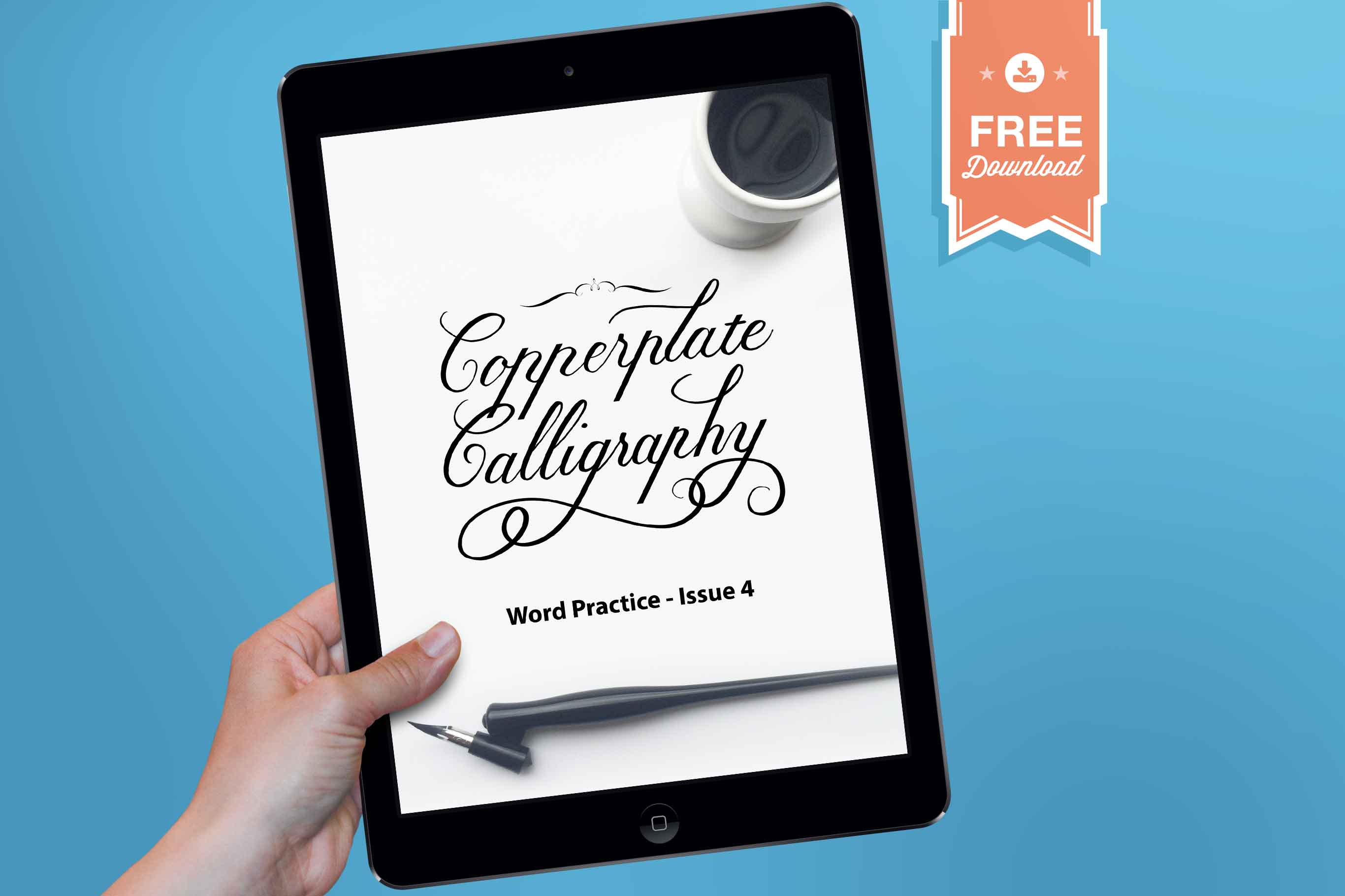 Word practice guide for procreate issue ipad calligraphy