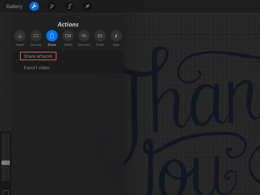 How to Vectorise your Procreate Lettering – iPad Calligraphy