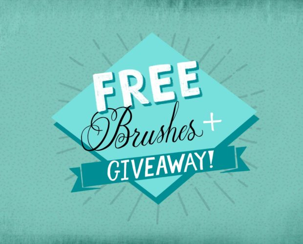 Free Procreate Brushes + Giveaway