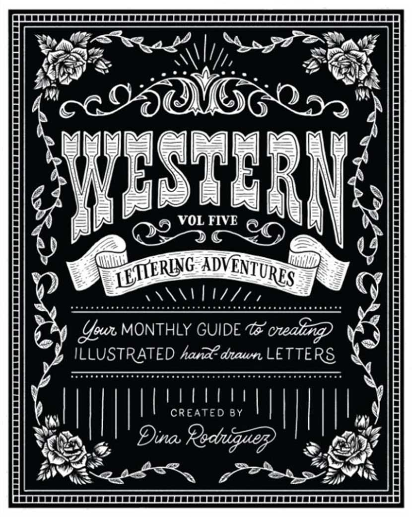 Lettering by Dina Rodriguez