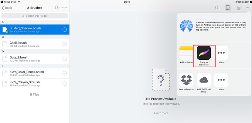 How to Install Procreate Brushes on your iPad