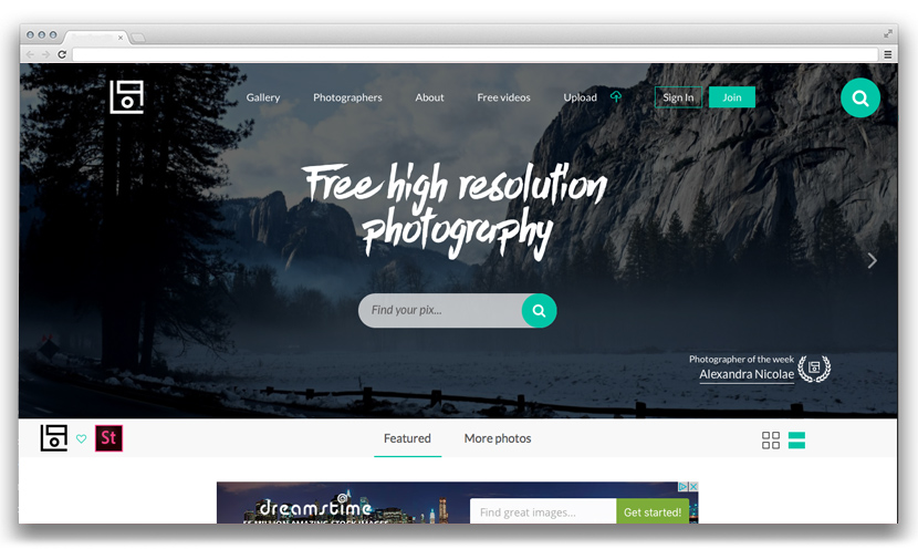 Photo Stock Websites for Lettering