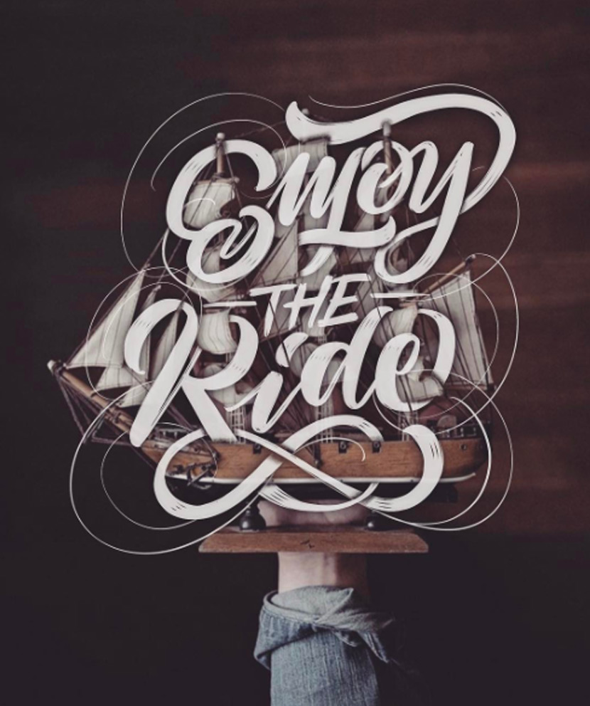 Type by Chris - Enjoy the Ride