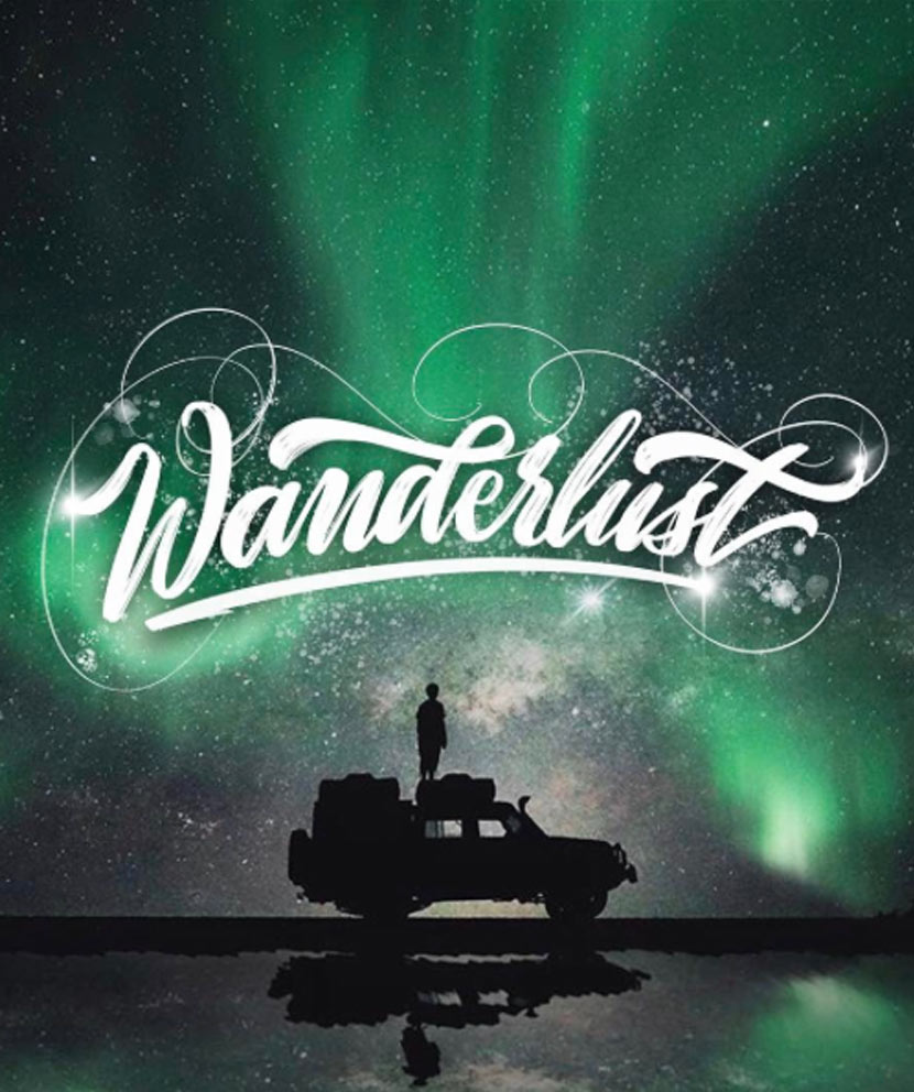 Type by Chris - Wanderlust