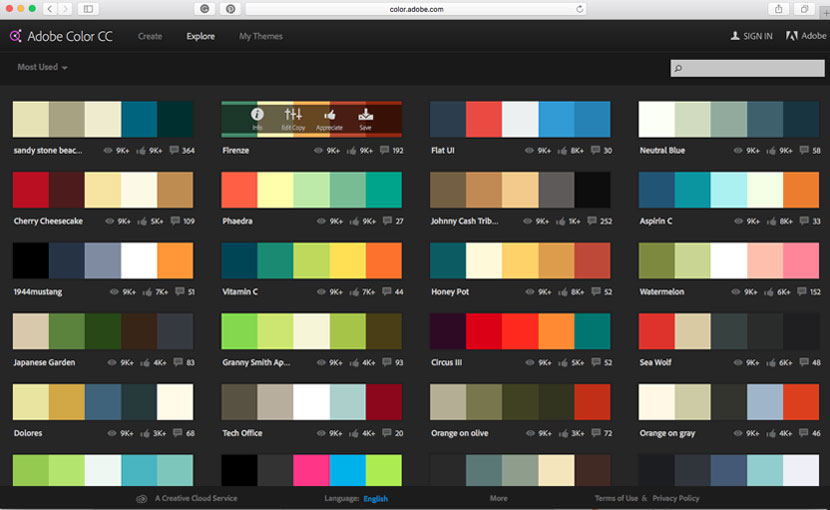 How To Pick The Perfect Colour Palette Ipad Calligraphy