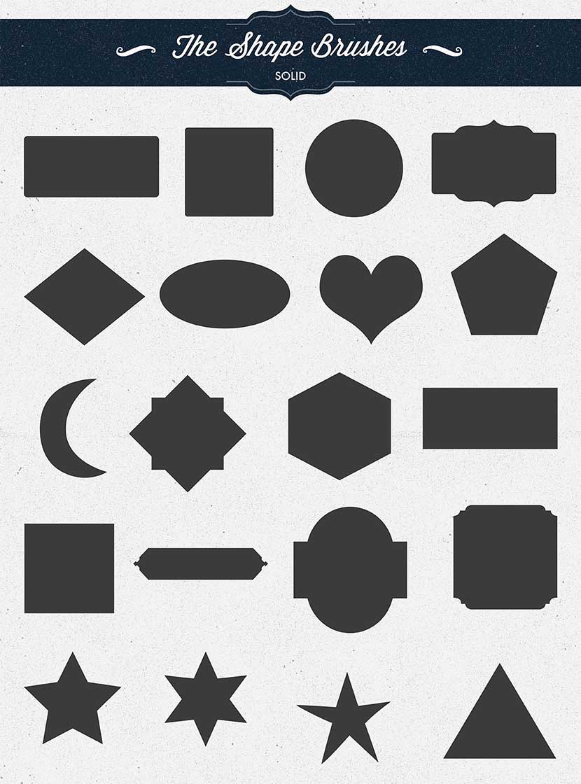 Shape and Ornament Brushes for Procreate