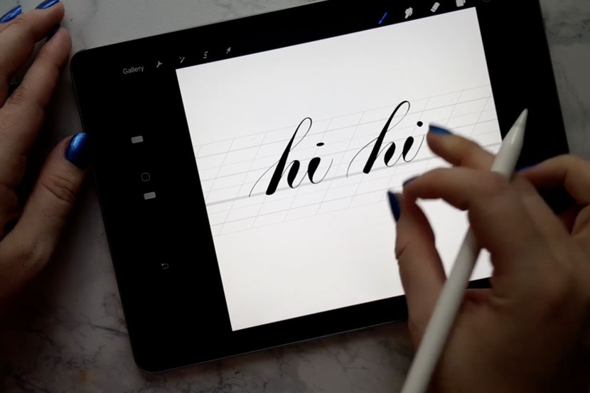 Top 10 Skillshare classes for iPad Lettering Artists - Procreate Brush Masterclass - Myriam Frisano