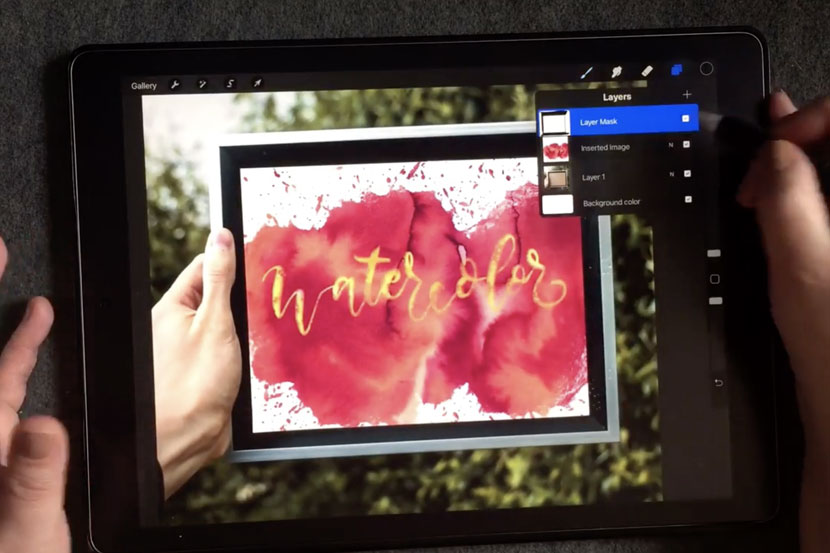 Top 10 Skillshare classes for iPad Lettering Artists - Get creative with layer Masks - Kim Miller
