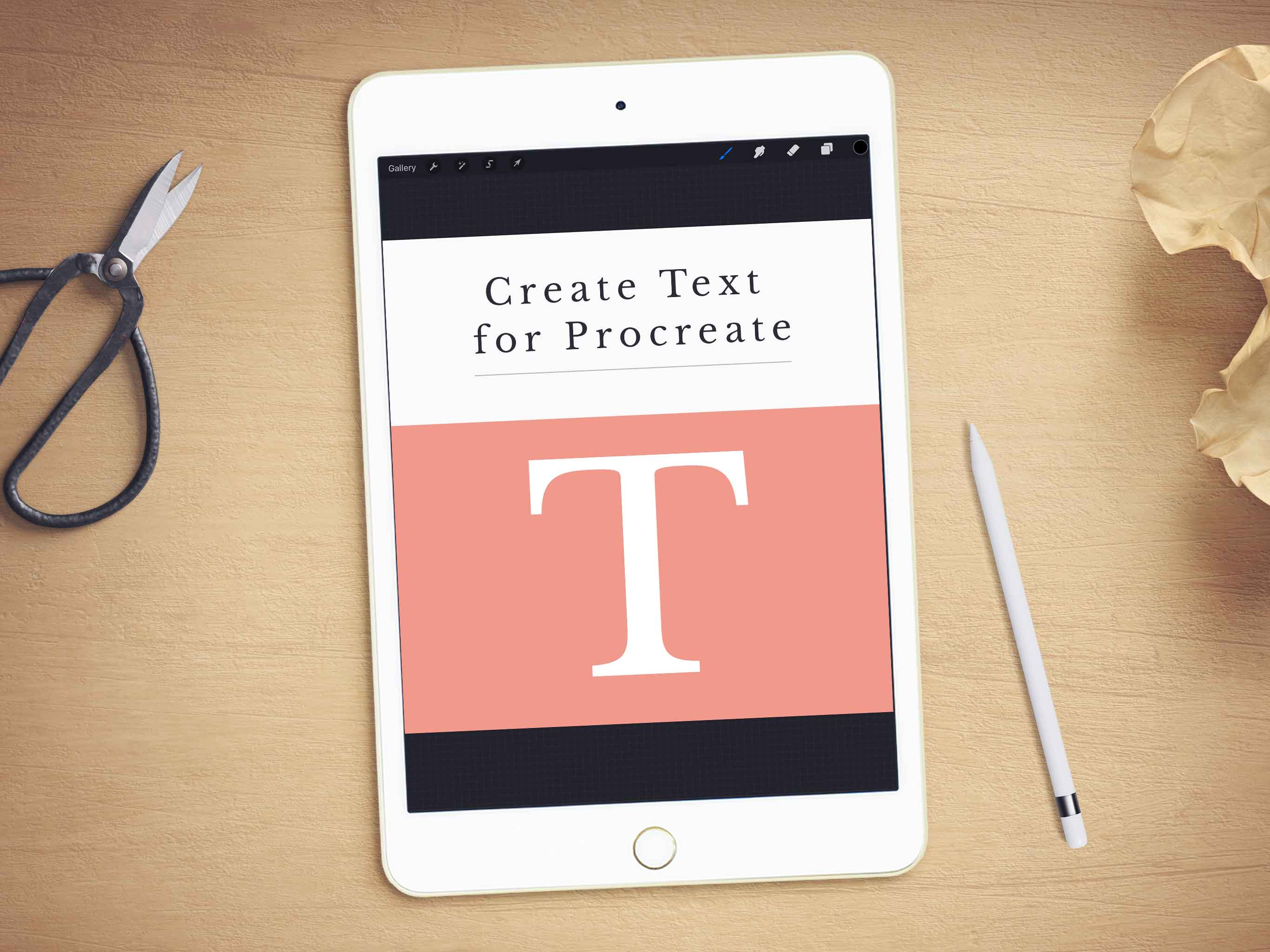 4 of the Best Apps for Importing Text to Procreate – iPad Calligraphy