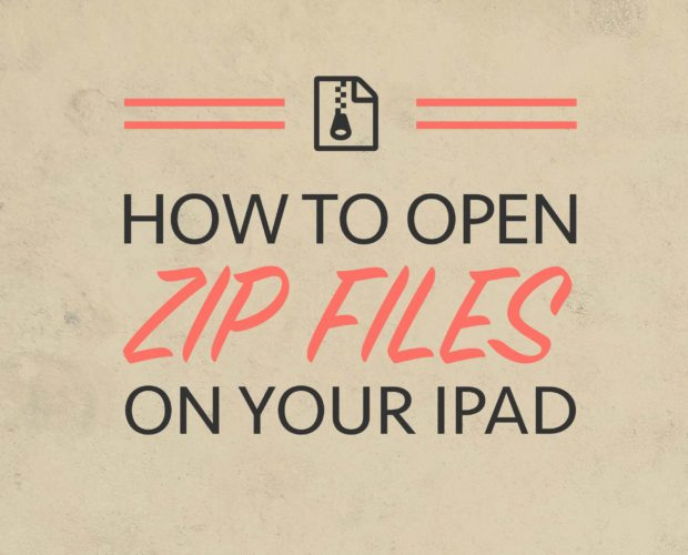 How to Unzip Procreate Brushes on your iPad (without access to a computer)