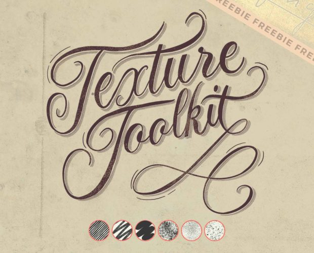 Vintage Lettering in Procreate - 6 free brushes
