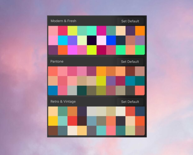 3 Free Color Palettes for Procreate
