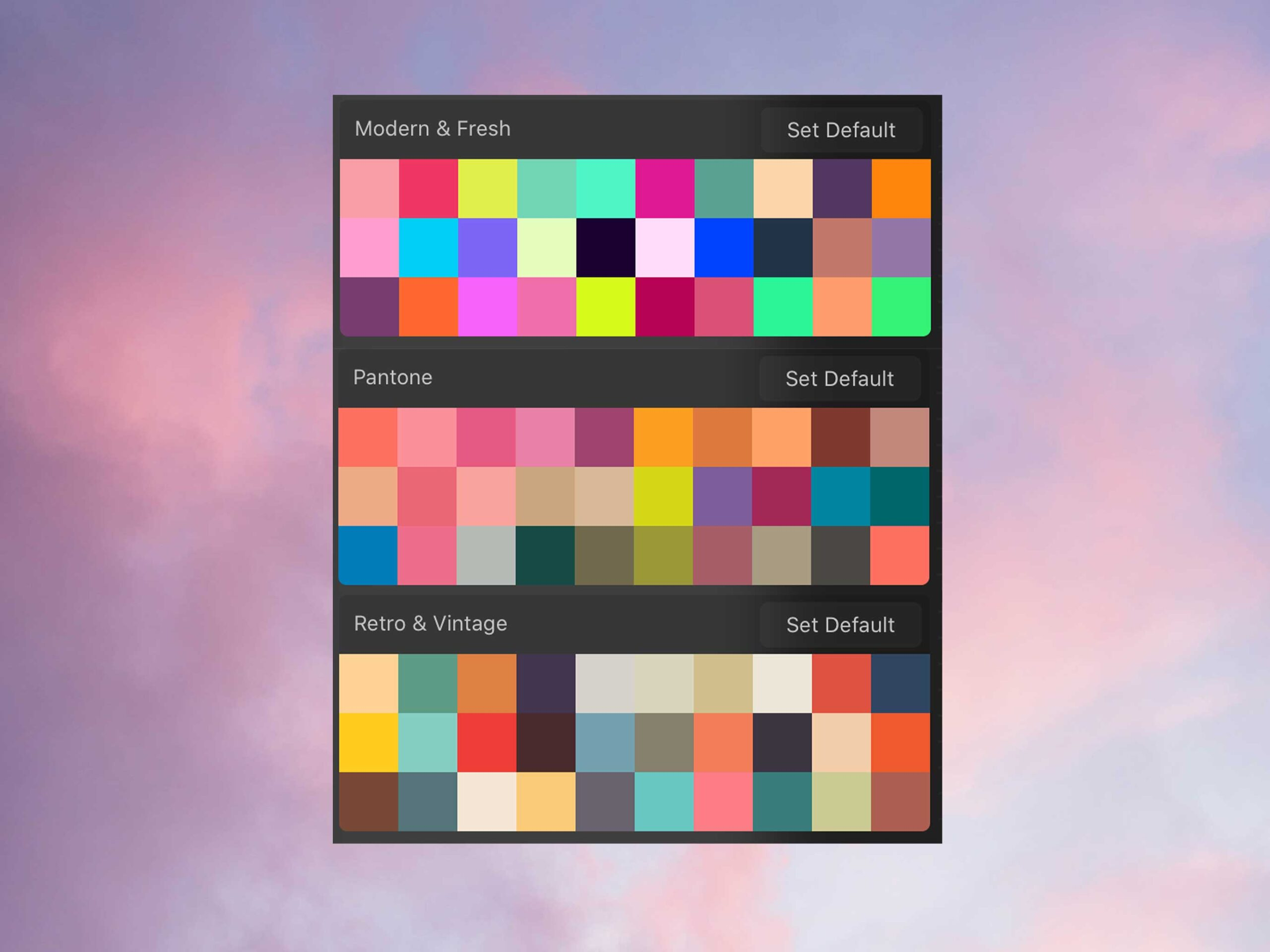 3 Free Color Palettes For Procreate 90 Swatches Ipad Calligraphy