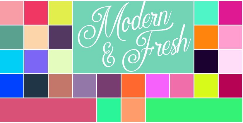 3 Free Color Palettes for Procreate (90 swatches) – iPad