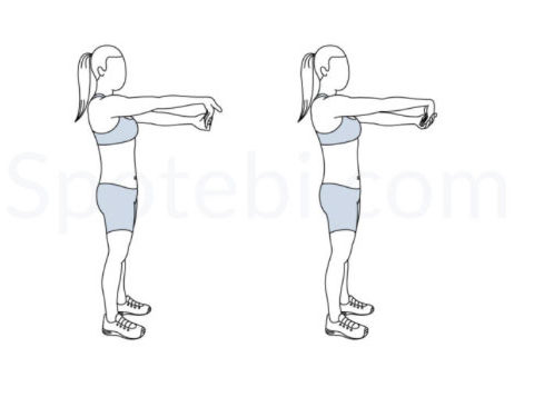 Gentle Wrist Stretch - Spotebi website