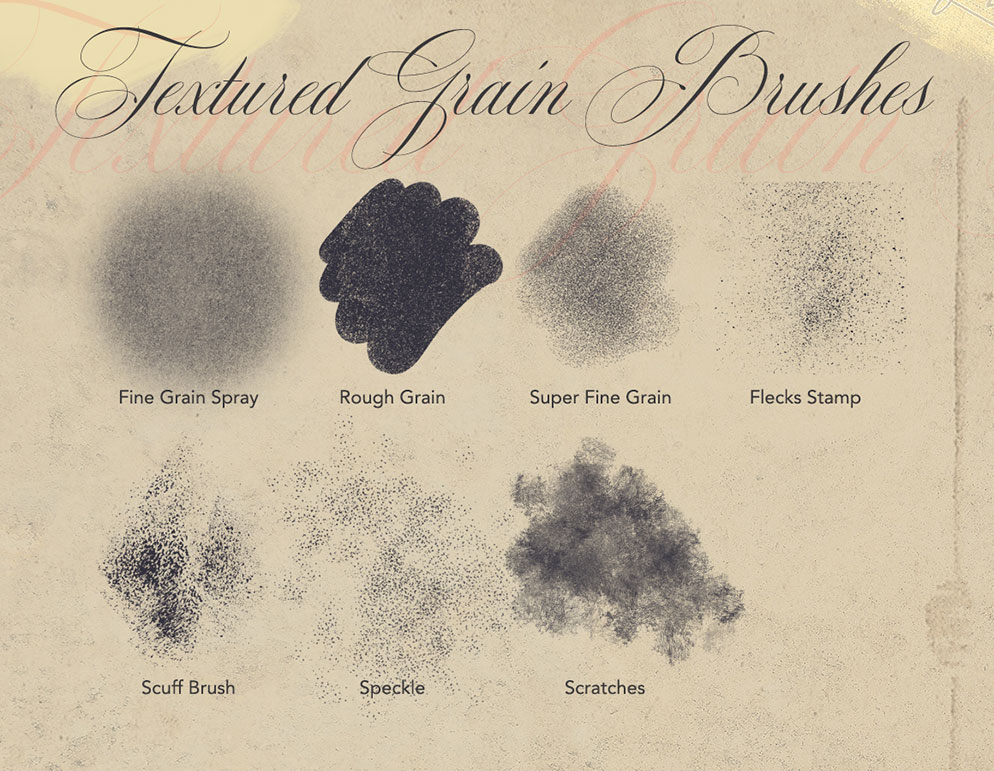 Texture Toolkit Brushes for Procreate - Grain Brushes