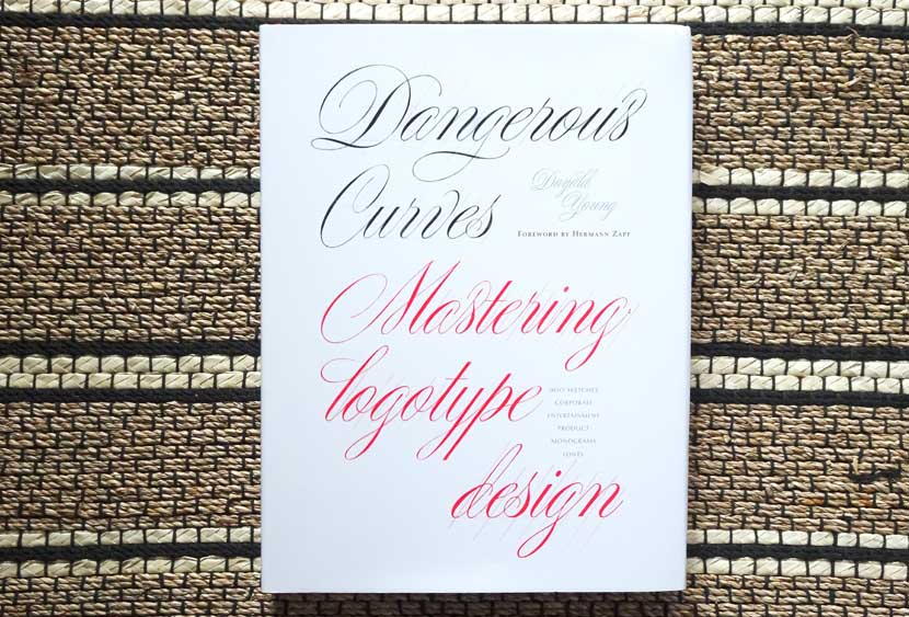 Best Lettering Books - Dangerous Curves by Doyald Young