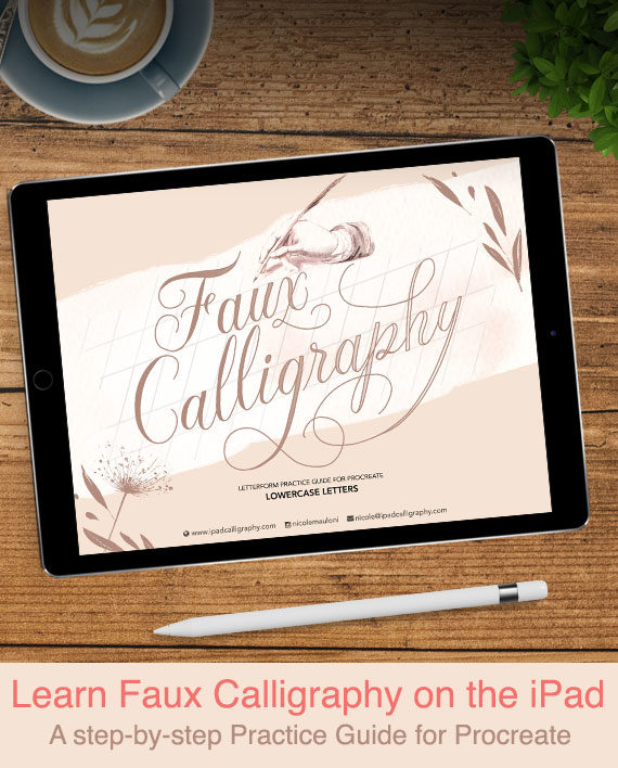 Learn Faux Calligraphy in Procreate