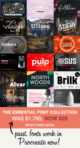 Design Cuts - Font Essentials Bundle