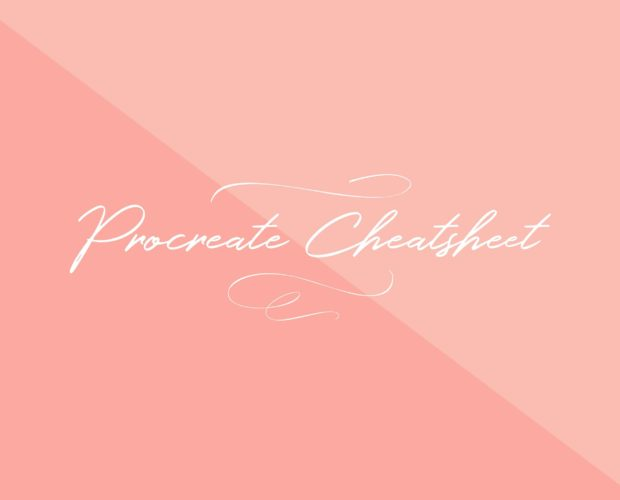 Procreate Cheat Sheet Free Download