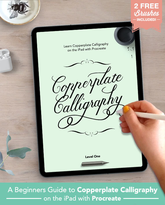 Copperplate Calligraphy with Procreate