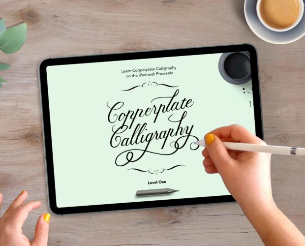 Copperplate Guide for Procreate