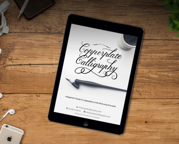 Copperplate Calligraphy on the iPad Version 1
