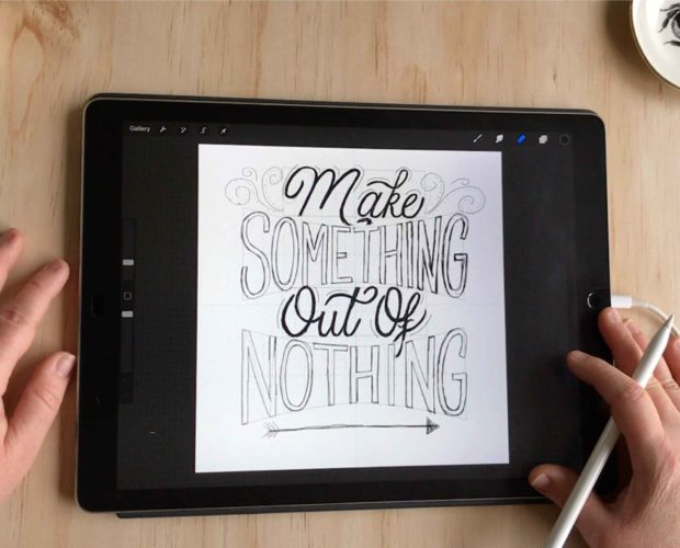 Better Lettering Compositions in Procreate