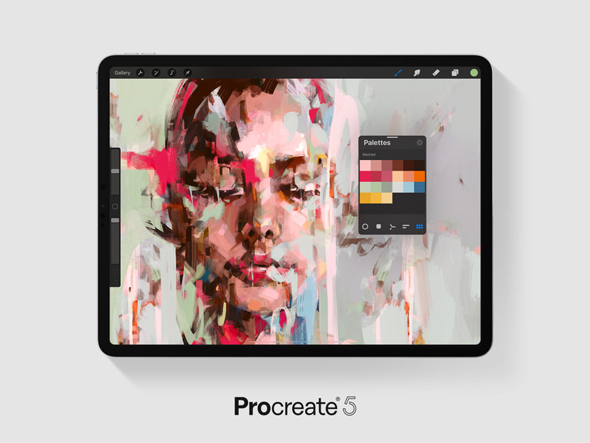 Procreate 5 Color Palette Picker