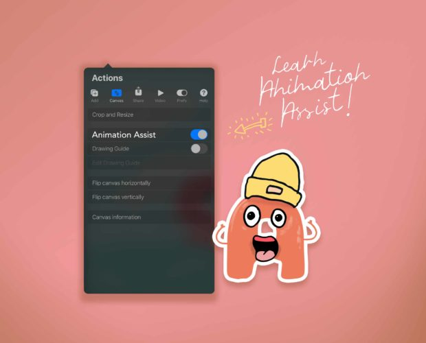Learn Animation Assist in Procreate 5