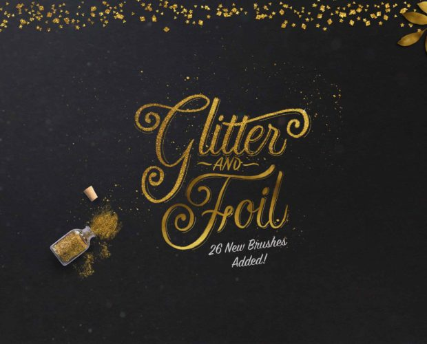 Glitter and Foil Kit updated!