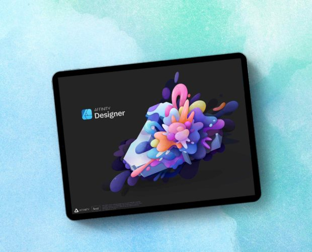 How to install brushes in Affinity Designer on the iPad